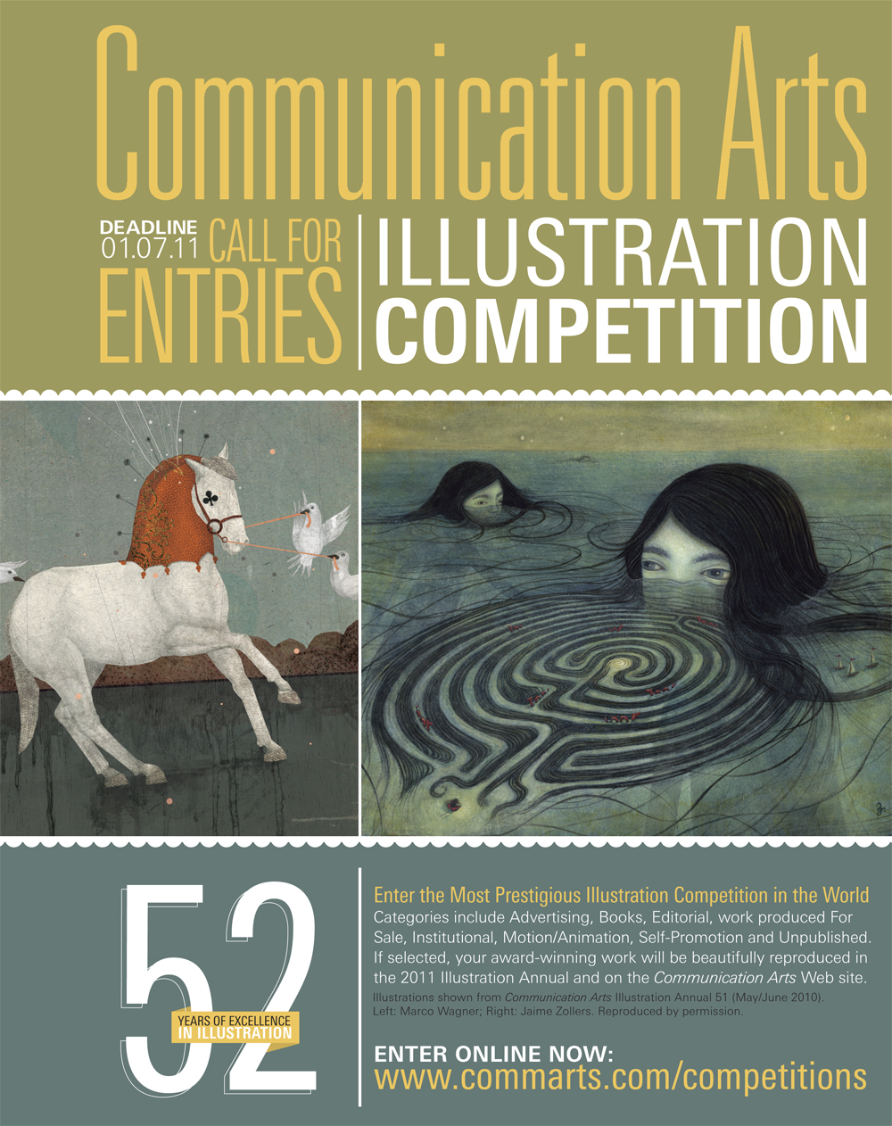 Communication Arts magazine: Illustration Competition 2011